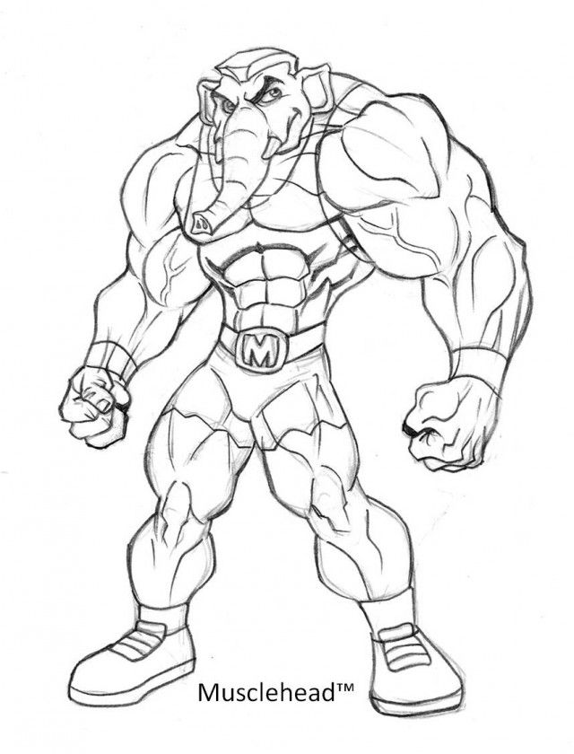muscle coloring pages az coloring pages