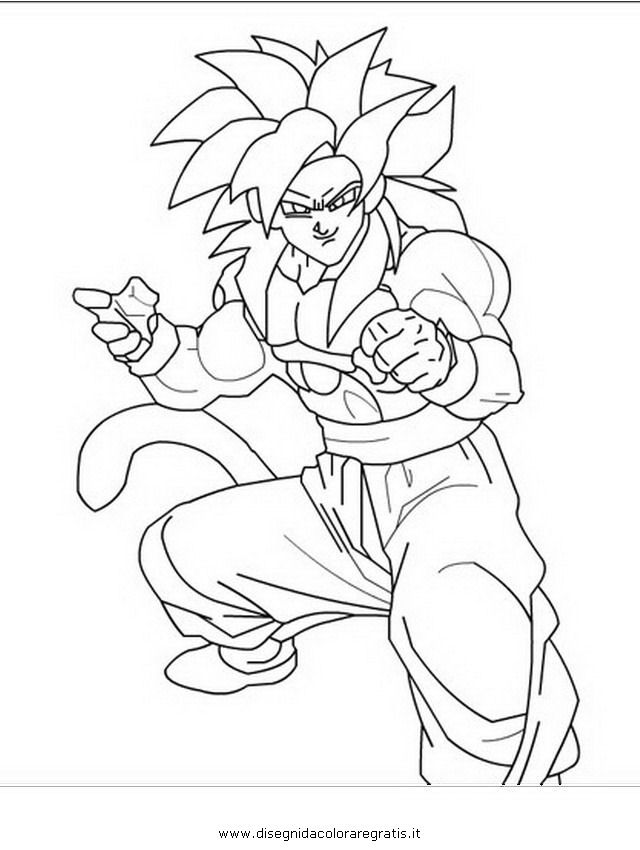 dragon ball gt coloring pages az coloring pages