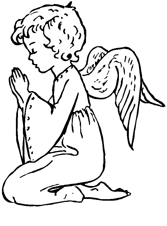 angels coloring pages free printable download coloring pages hub