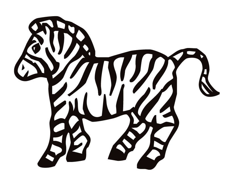 baby zebra coloring pages az coloring pages