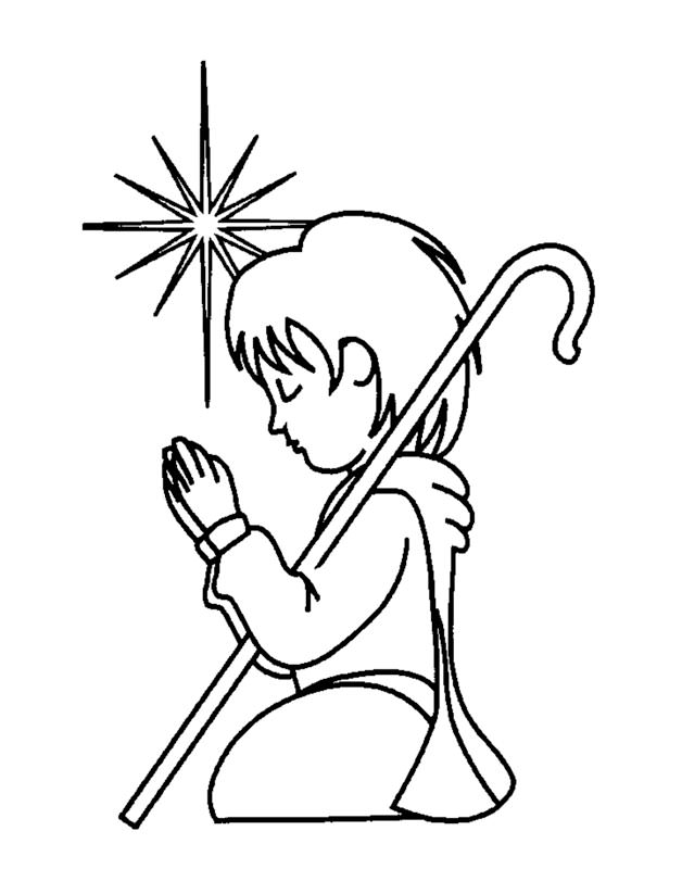 Child Praying Coloring Page AZ Coloring Pages