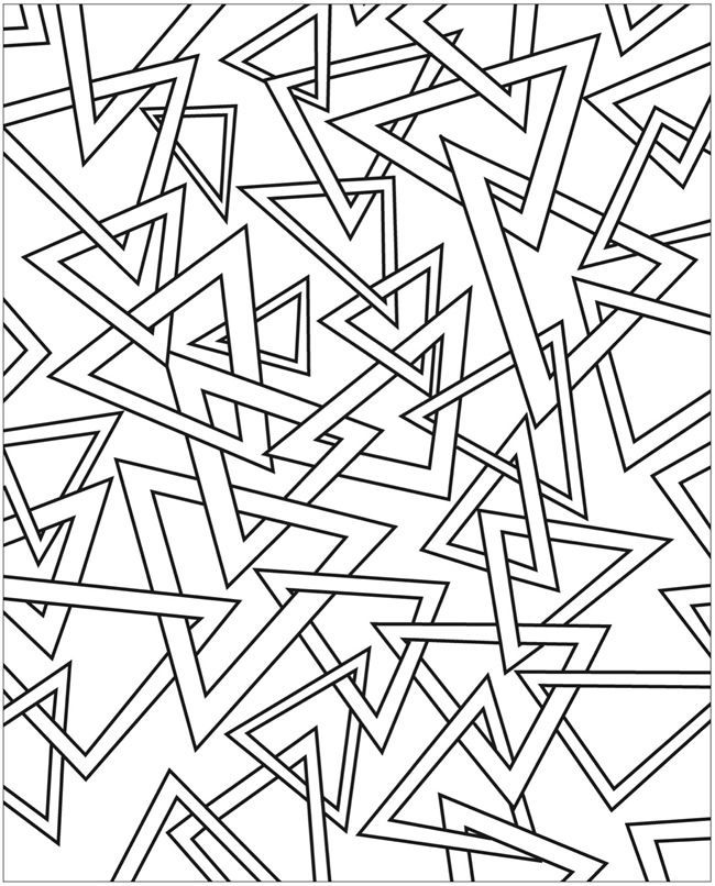 coloring book abstractions doodles coloring pages