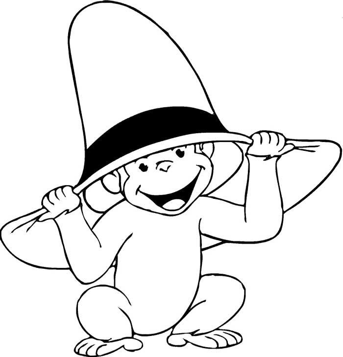 monkey face coloring pages for free monkey face coloring pages