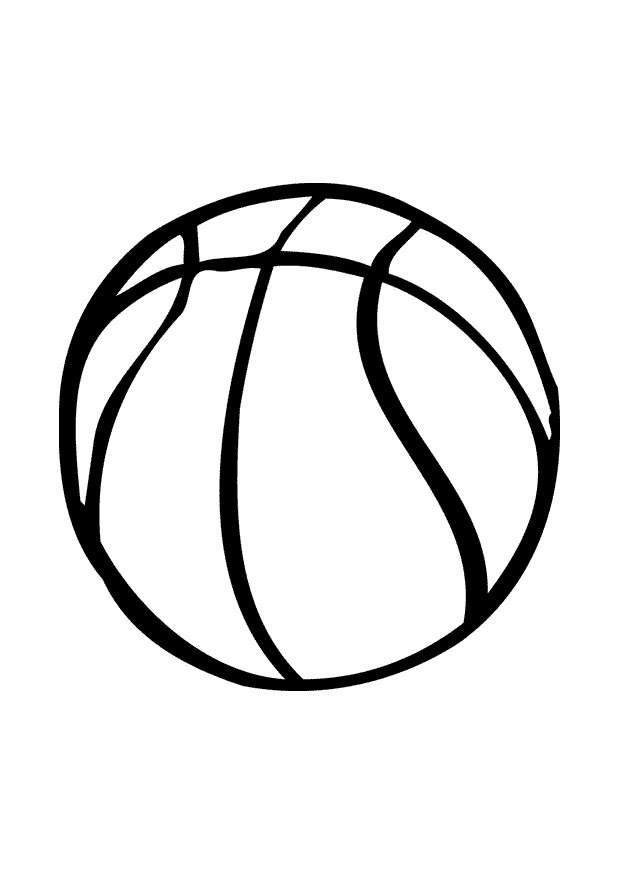 basketball coloring page pages kids crafts pinterest 2014 sticky