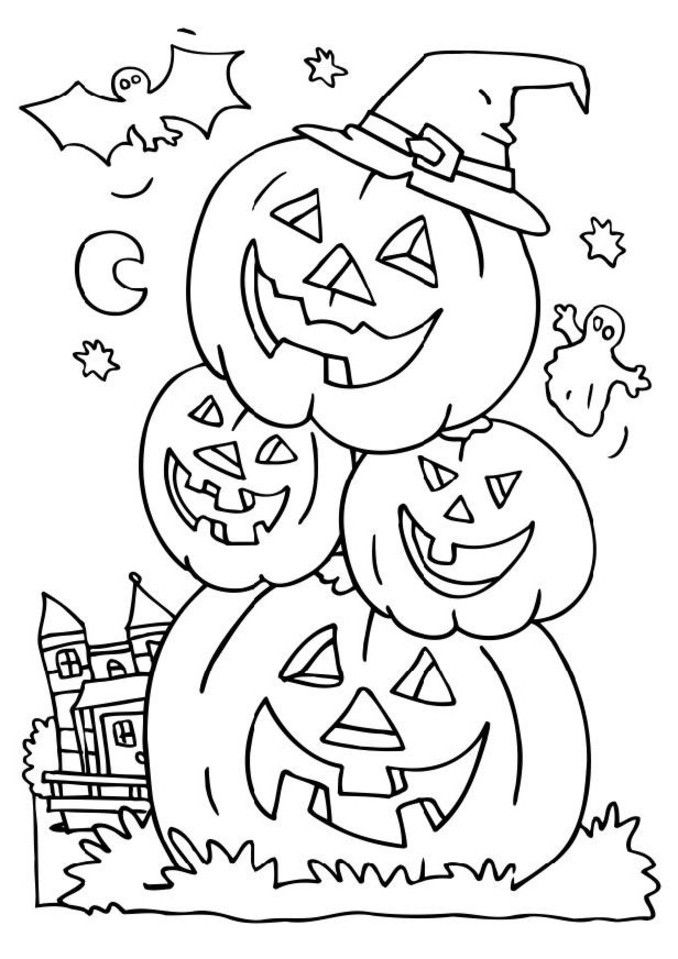 free halloween coloring pages printable coloring pages for kids