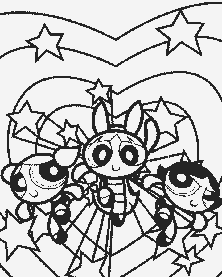 powerpuff girls coloring book az coloring pages