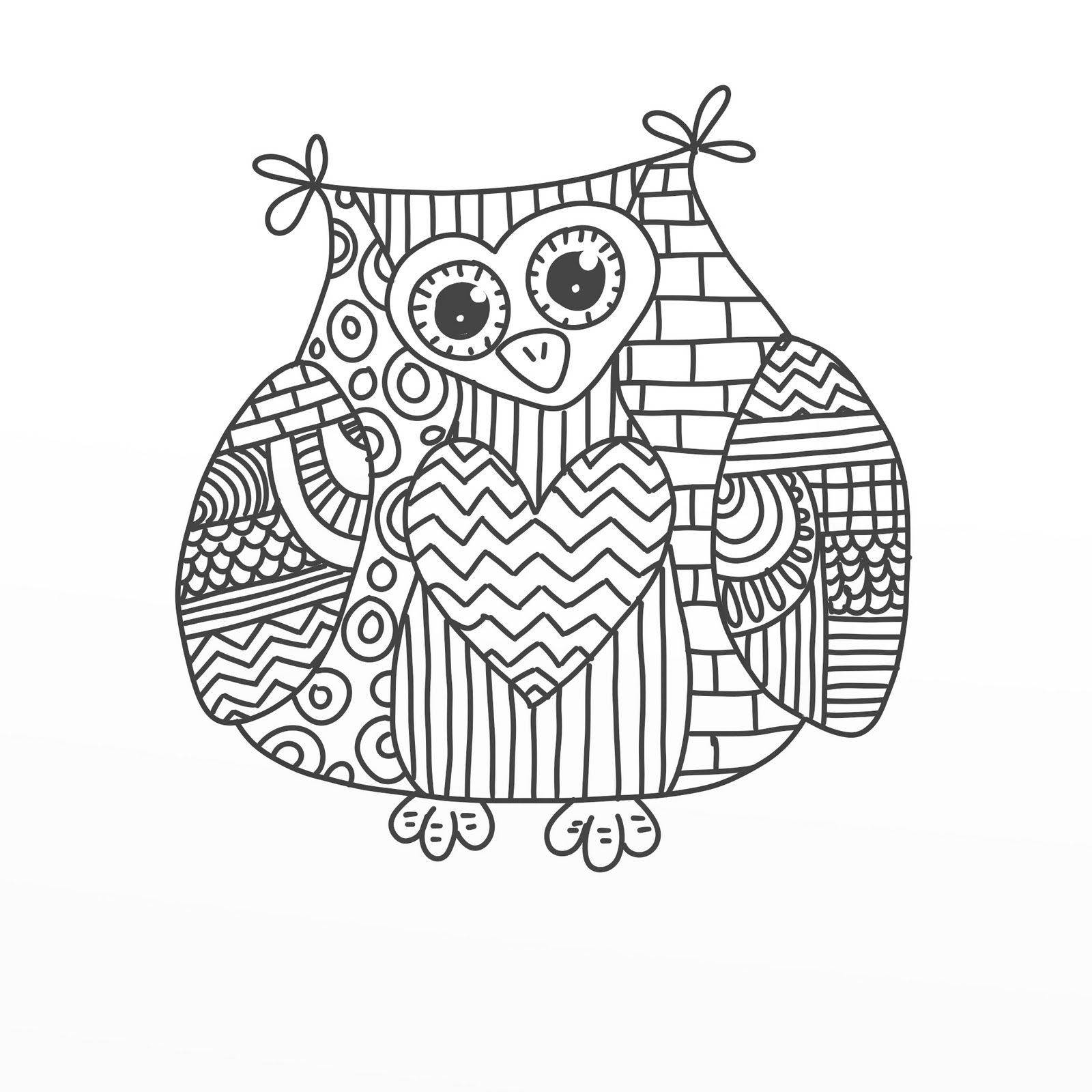 cool owl coloring pages az coloring pages