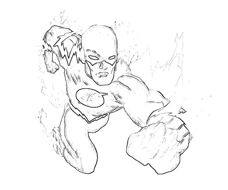Flash Coloring Pages Picture - Whitesbelfast   667x800
