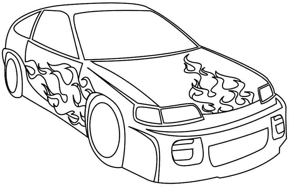 printable coloring pages of sports cars az coloring pages