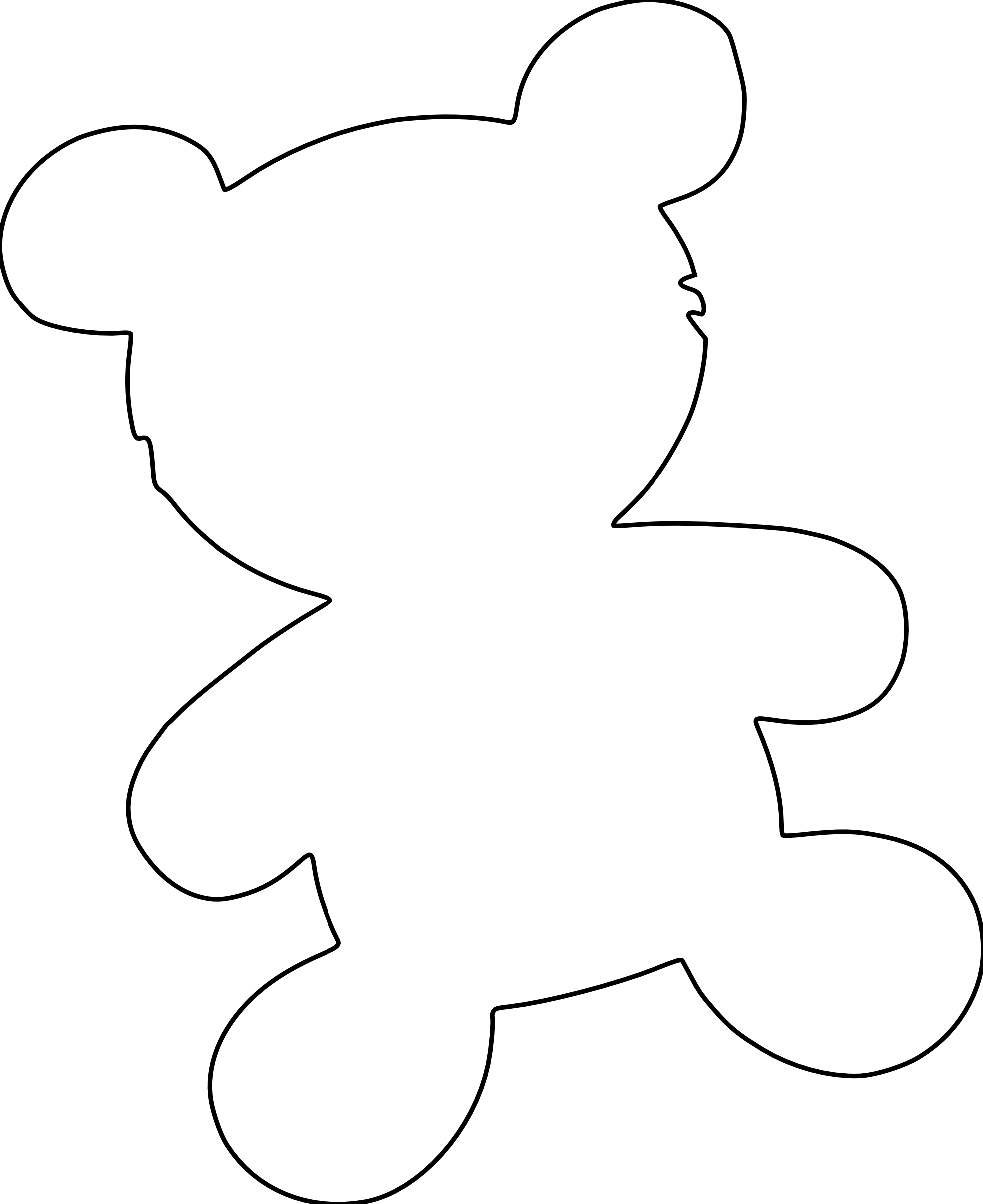 christmas bear coloring page az coloring pages