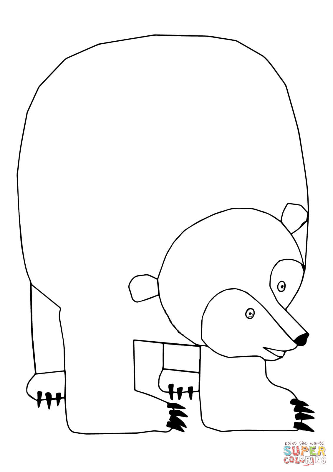 brown bear brown bear what do you see coloring pages az coloring