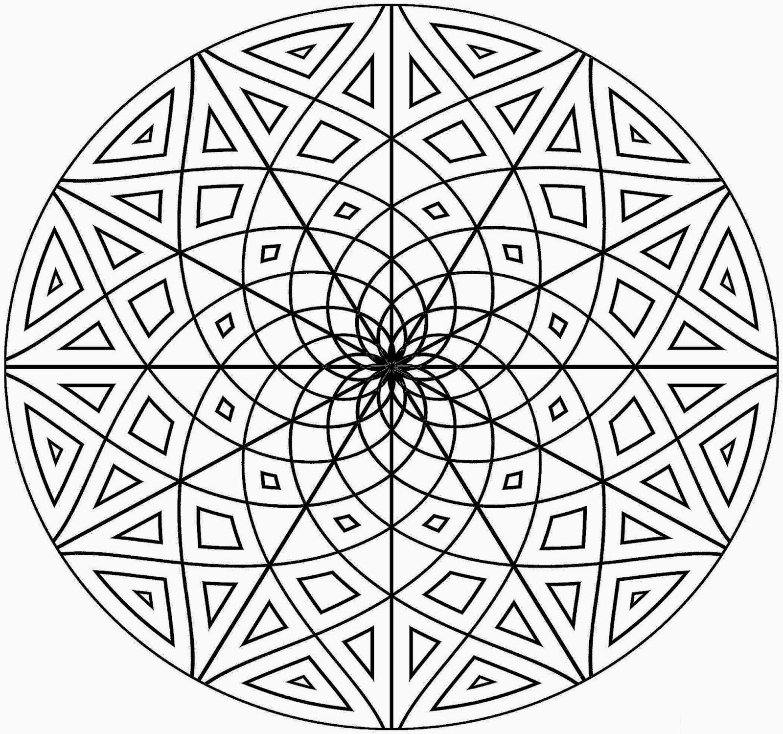 Math Patterns Coloring Pages