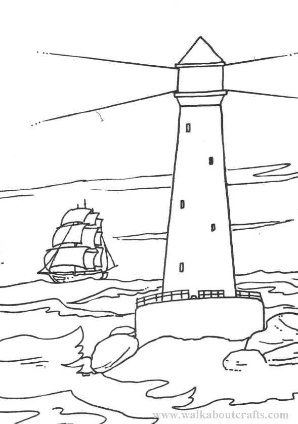 lighthouse coloring pages for adults az coloring pages
