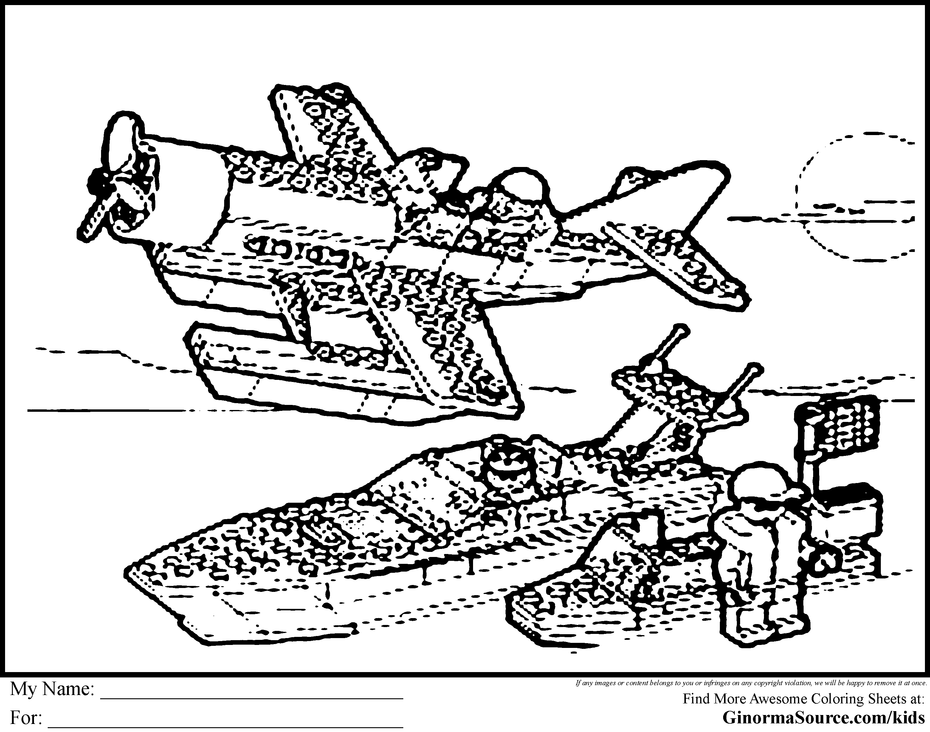coloring page lego city az coloring pages