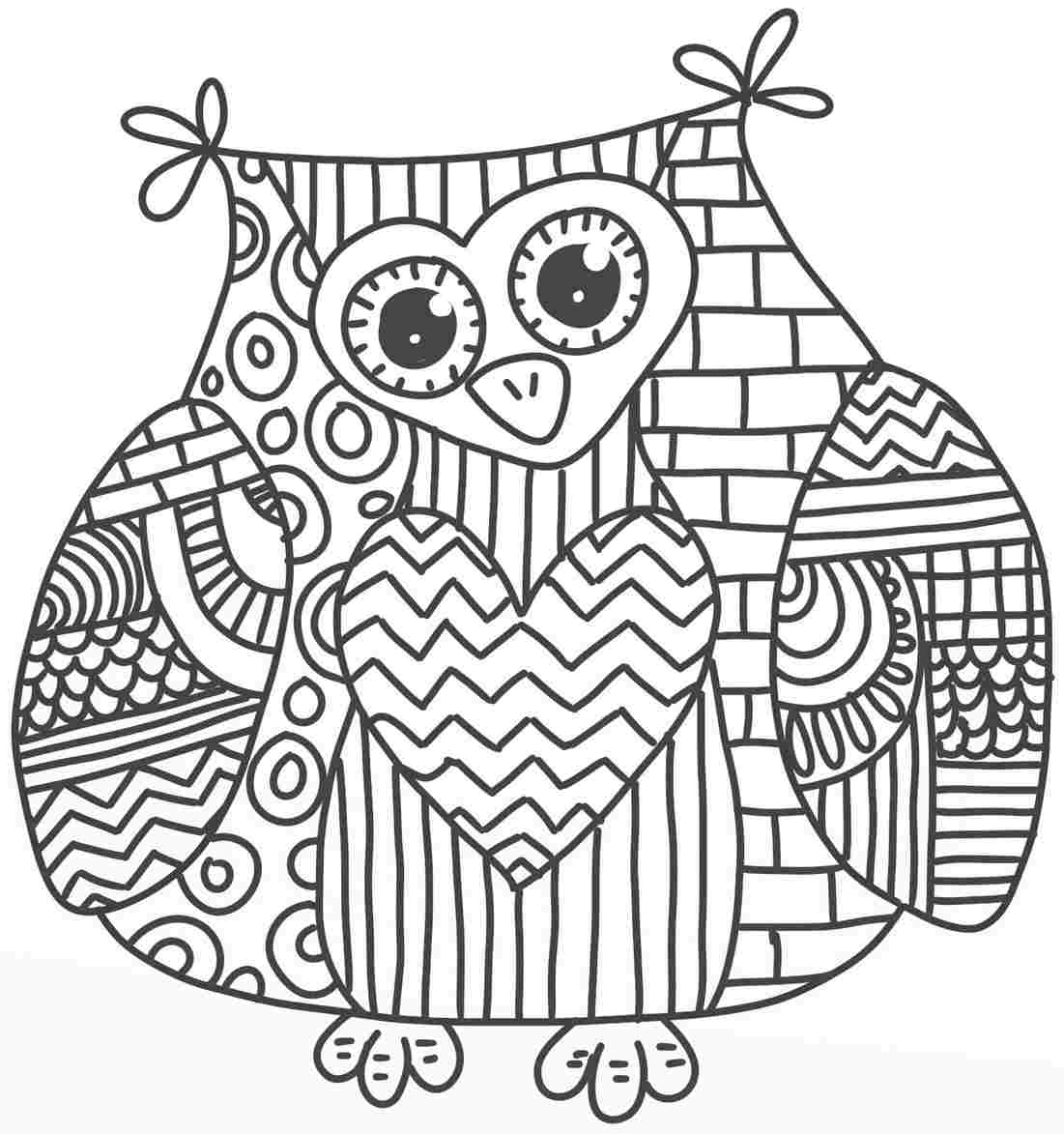cute owl coloring pages az coloring pages