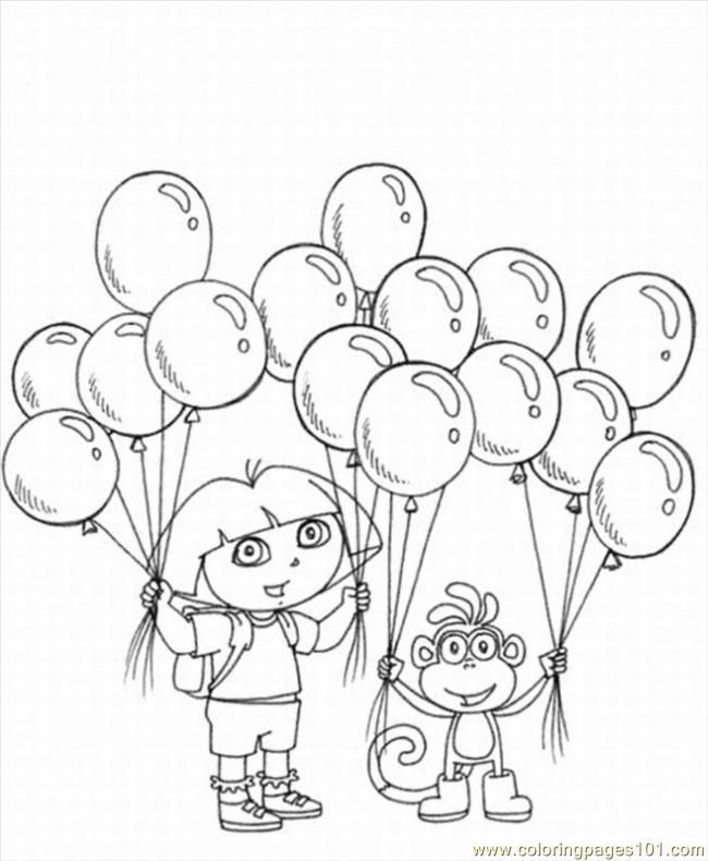 coloring pages explorer coloring pages 5 lrg cartoons gt dora the