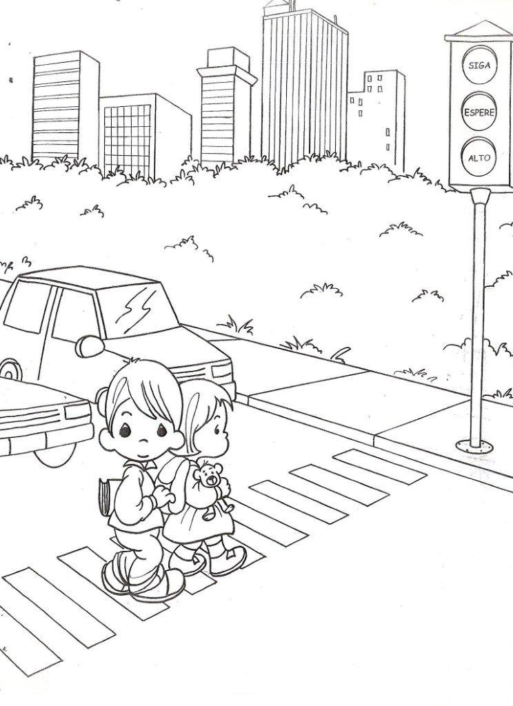 stop light coloring page az coloring pages
