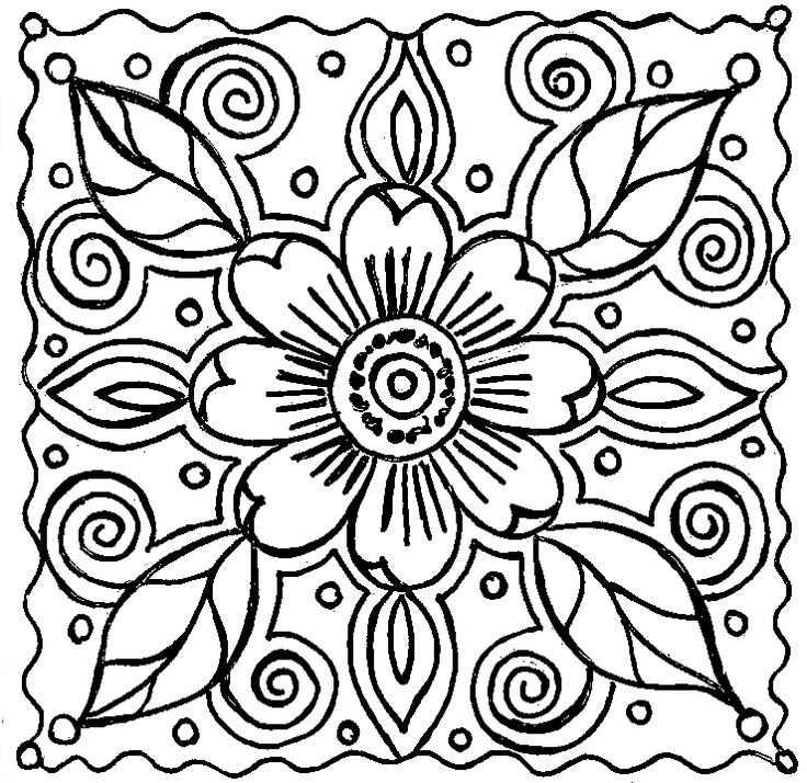 and print these abstract for adults coloring pages for free abstract