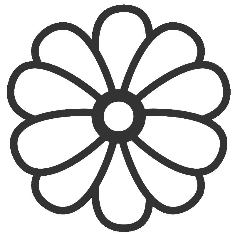 simple flower coloring pages az coloring pages