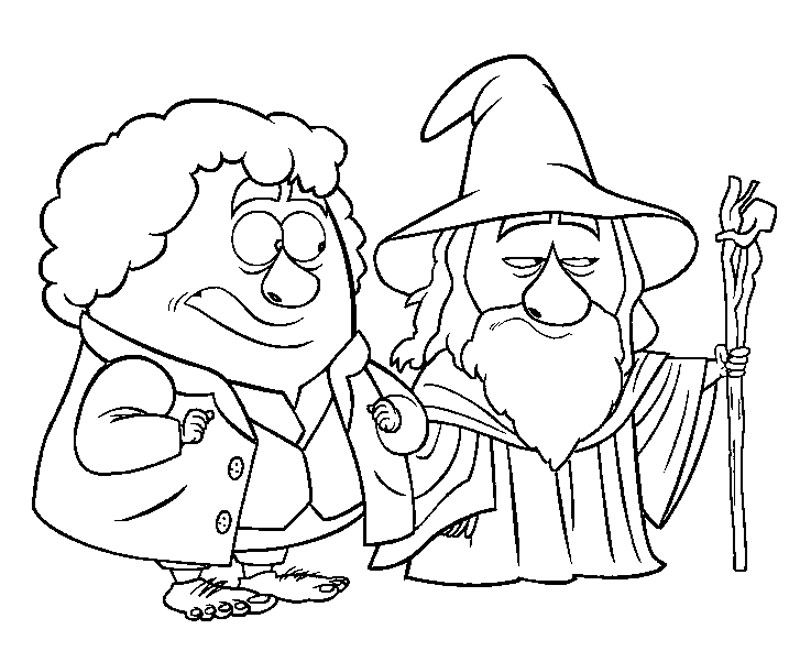 Hobbit Coloring Pages To Print. dragon coloring pictures to ...