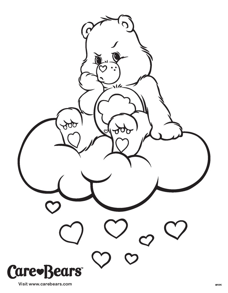 coloring pages care bears az coloring pages