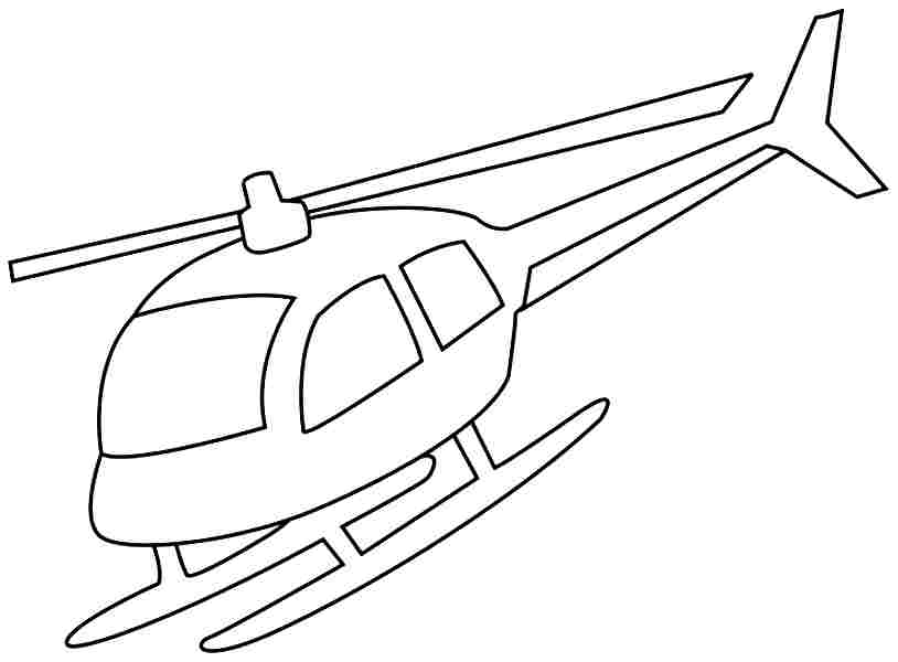 helicopter coloring pages for kids az coloring pages