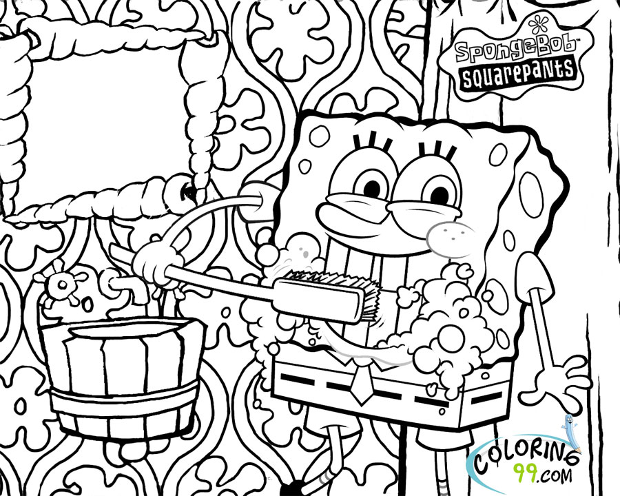 printable spongebob coloring pages free coloring pages for