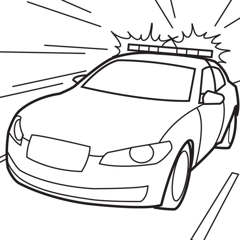 police coloring pages for kids az coloring pages