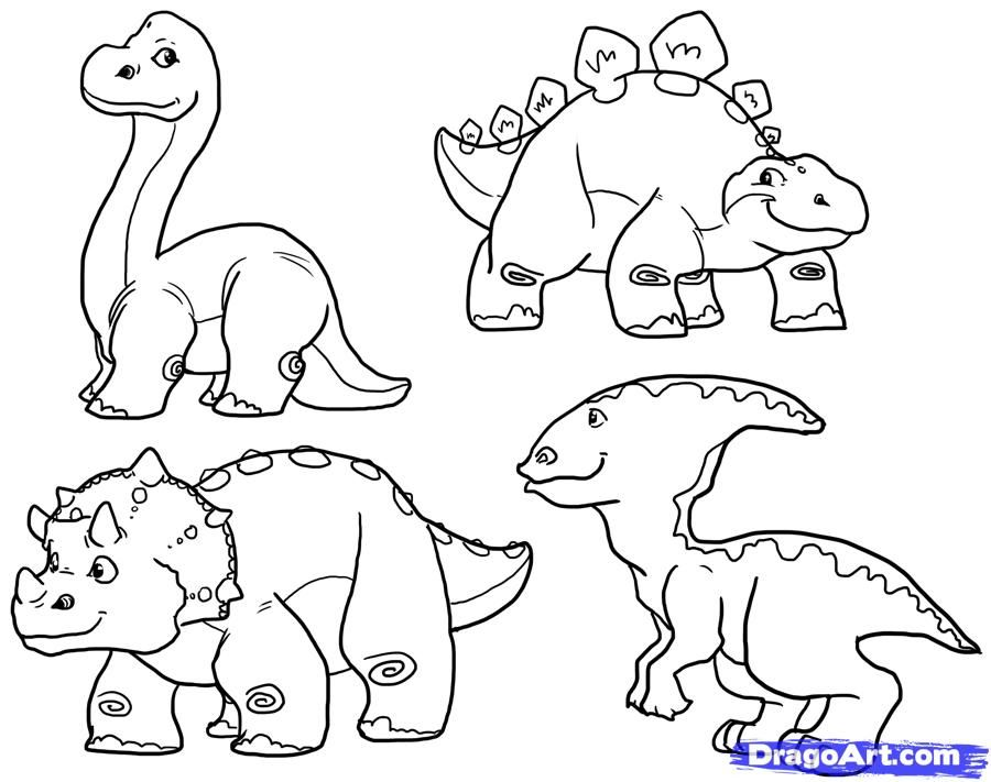 cute dino coloring pages az coloring pages