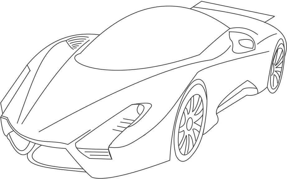 download and print these sport car coloring pages for free sport car