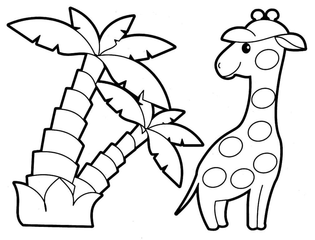 animal coloring baby jungle animals coloring pages realistic