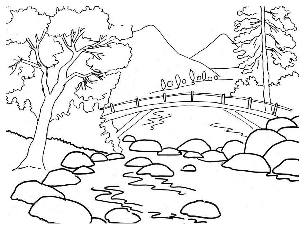 free nature coloring pages az coloring pages