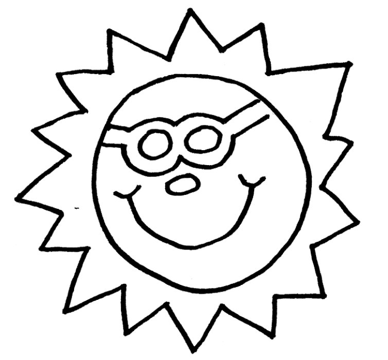 fun in the sun coloring pages muuf