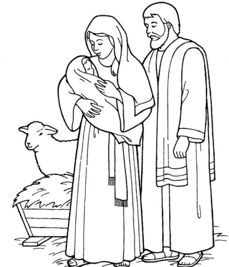 holy family coloring pages az coloring pages