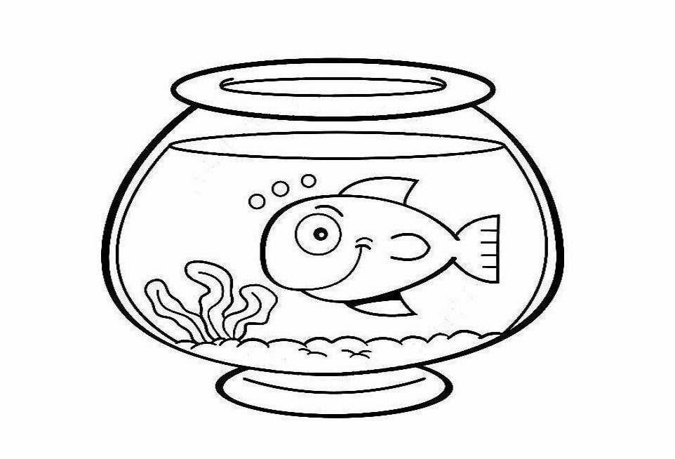 fish tank coloring page az coloring pages