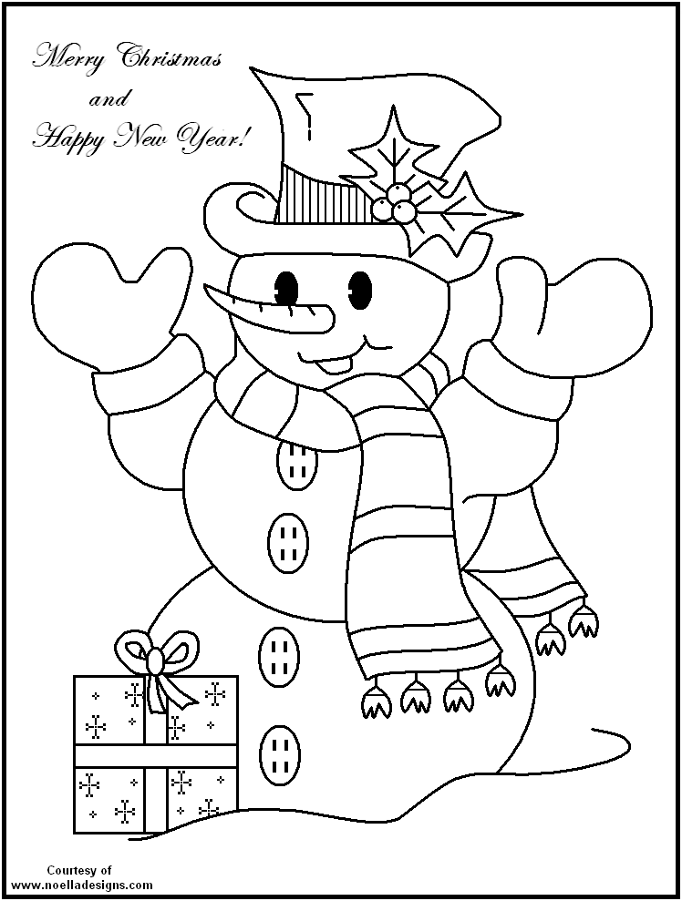 printable snowman coloring sheets coloring pages