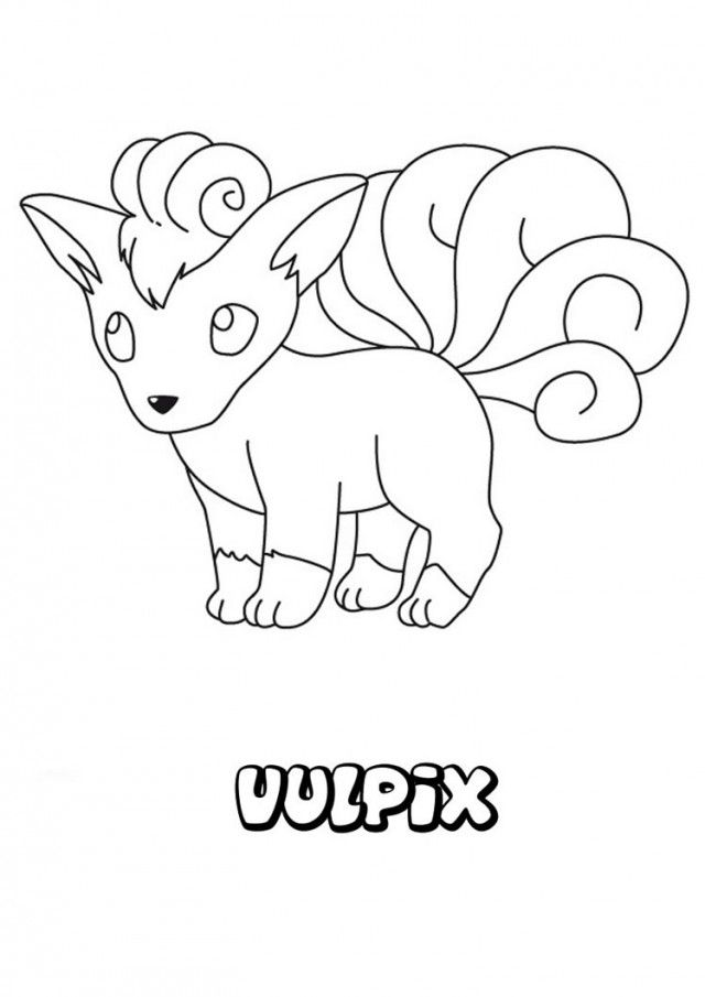pokemon eevee pictures az coloring pages
