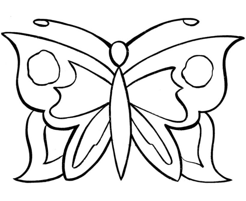 simple pattern butterfly coloring pages simple pattern butterfly