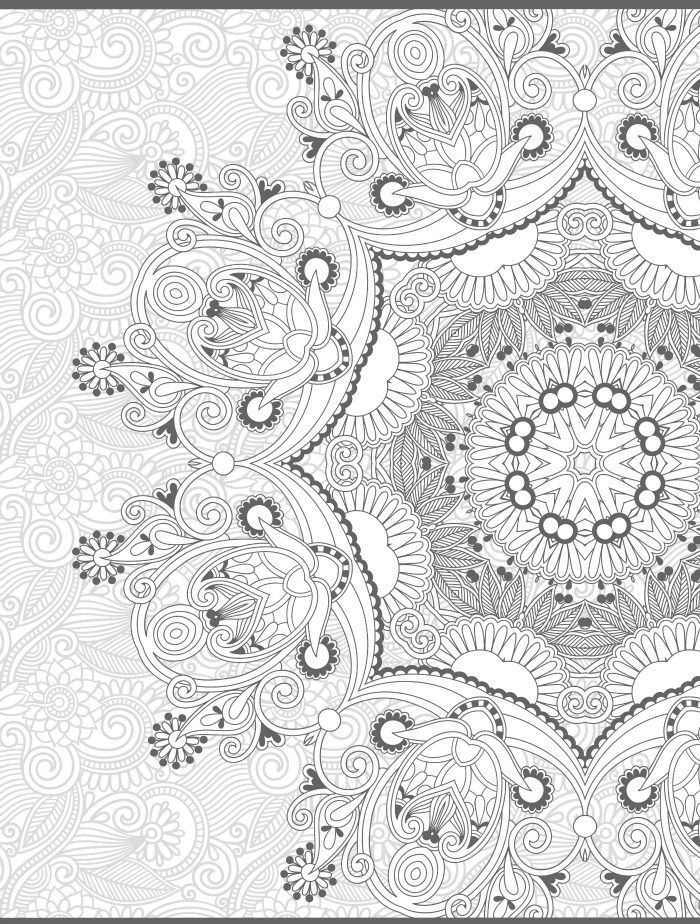 Freeprintable Adult Coloring Pages Paisley Coloring Home