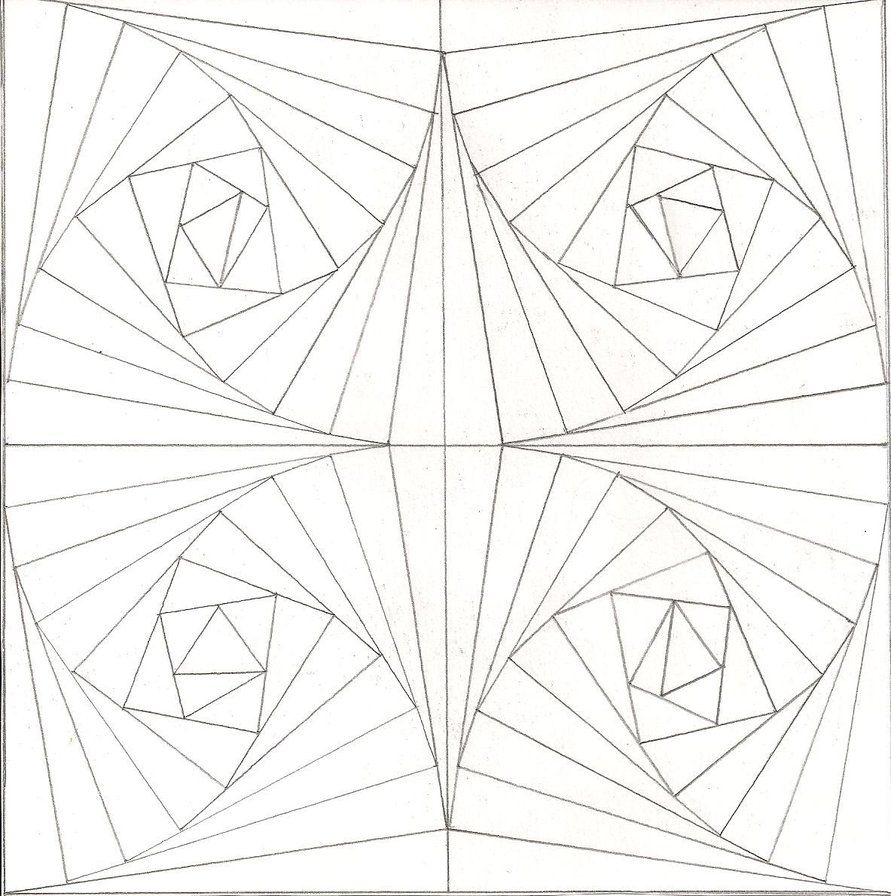 Optical Illusion Coloring Pages Optical Illusion 20 Coloring Page ... | 896x891