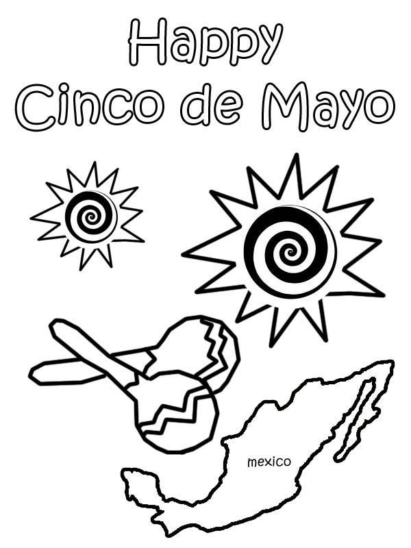 fiesta coloring pages # 86