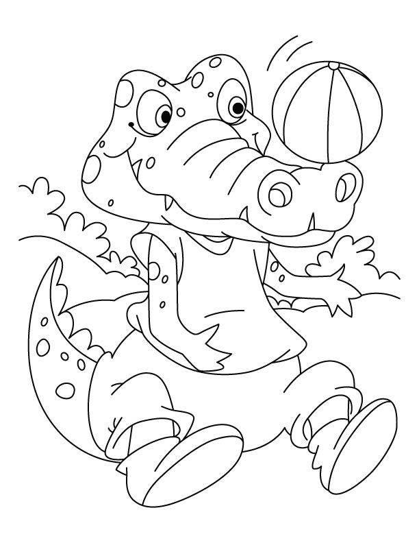 cute crocodile coloring pages cooloring com