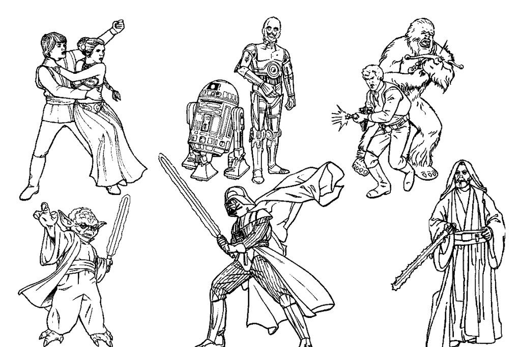 star wars coloring pages to print az coloring pages