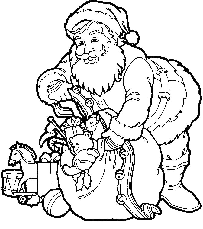 claus drawing pages for free santa claus drawing