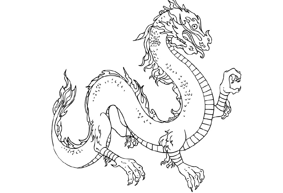 chinese dragon coloring pages coloring pages now