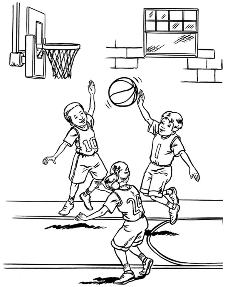 basketball coloring pages to print az coloring pages