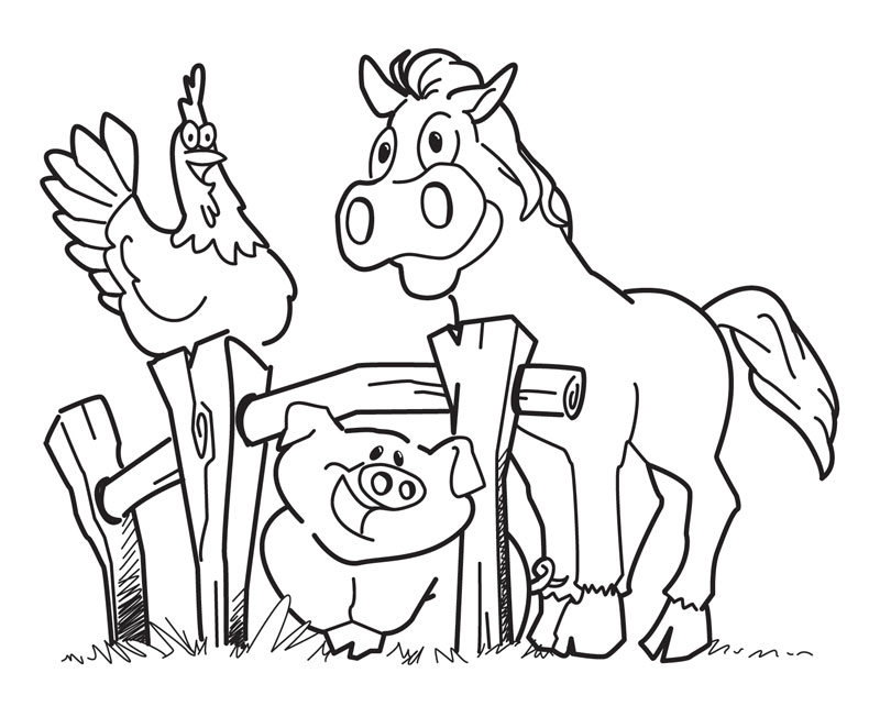barn coloring page az coloring pages