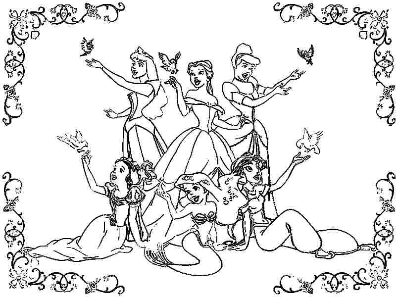 coloring pages for kids moreover tangled baby rapunzel coloring page