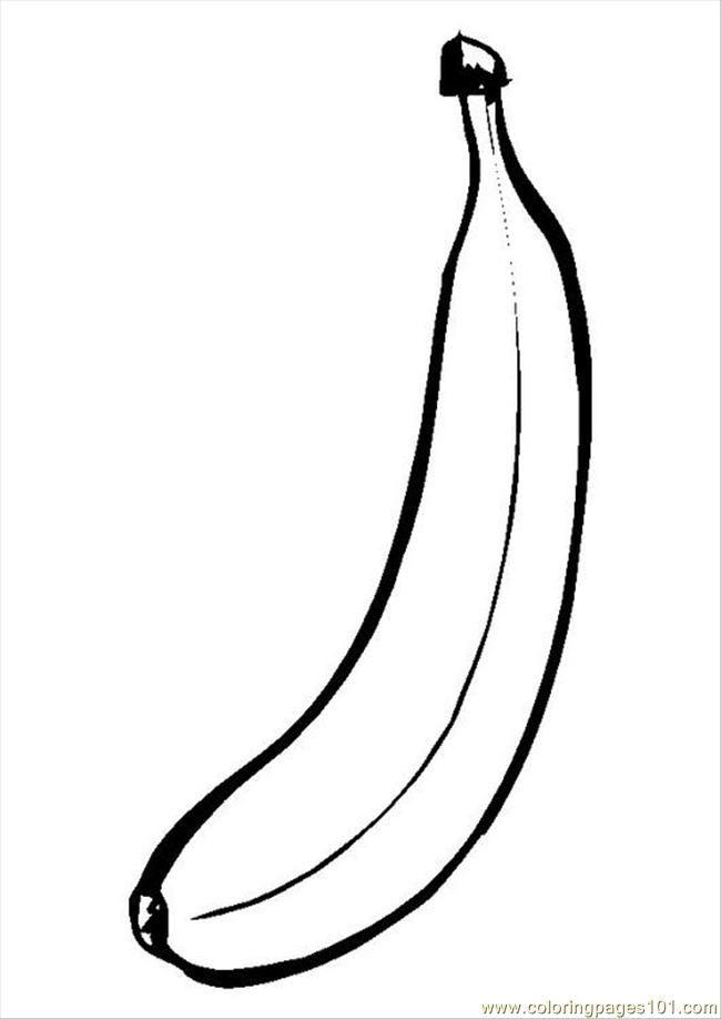 banana coloring pages print az coloring pages