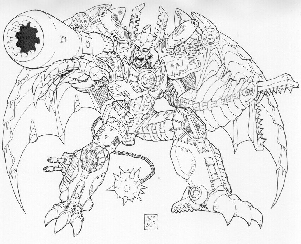 Transformers Beast Wars Coloring Pages